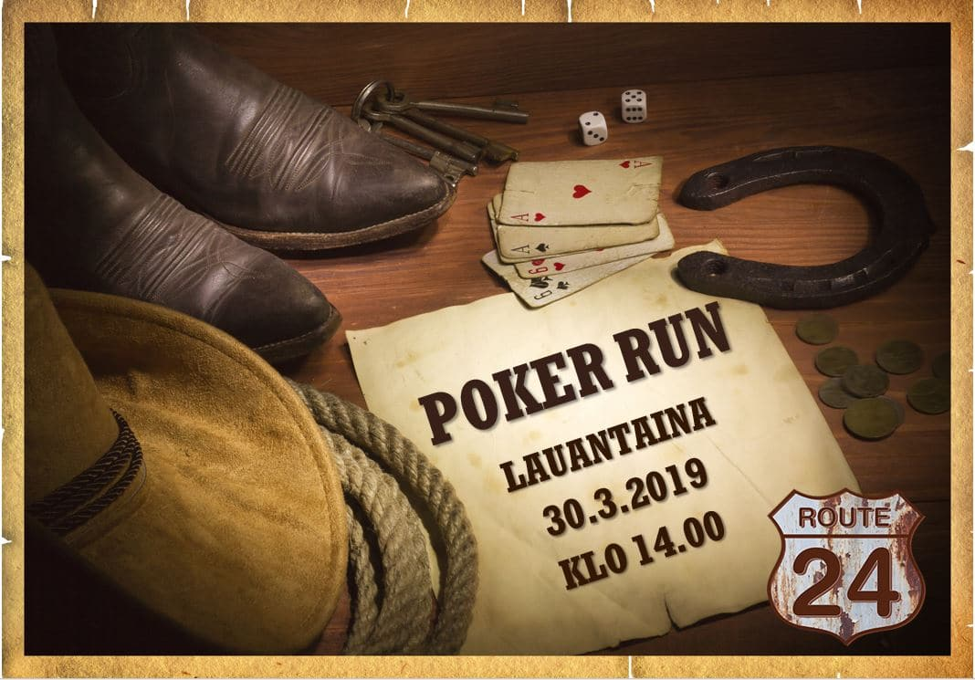 Winter Poker Run - Route 24