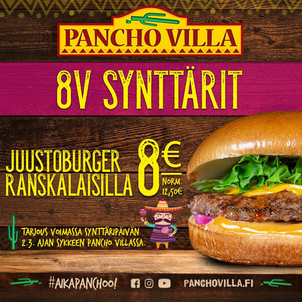 pancho 8v